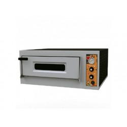 Elektrisk pizzaugn för 4 pizzor ø32 cm, mekanisk kontroll