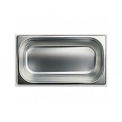 Gn kantin i rostfritt stål, gn 1/3 h   100 mm