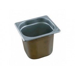 Gn kantin i rostfritt stål, gn 1/6 h   150 mm