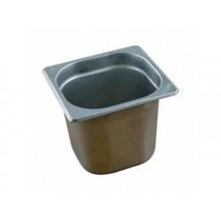 Gn kantin i rostfritt stål, gn 1/6 h   200 mm