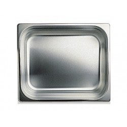 Gn kantin i rostfritt stål, gn 1/2 h   100 mm