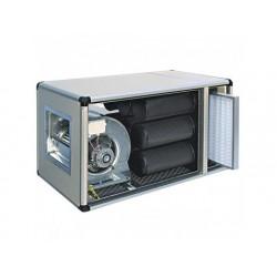 Filtrering och deodorisering enhet med direkt motor, 1400...