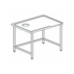 Höger sorteringsbord med hål, för vänster exit maskiner,...