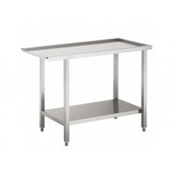 Inmatning samt utmatning bord för huvdiskmaskin, w   1000 mm