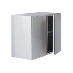 Väggskåp med slagdörrar och mitthyllan, 800x400 mm