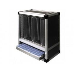 Träkol filtrering och deodorisering enhet, 1400 m ^ / h