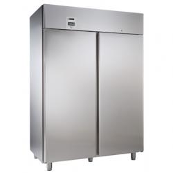 Zanussi-Frysskåp 2-Dörrar 1430Lt, -22/-15°C, Digital, Rostf