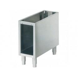 Öppet skåp för bänkmodell apparater l   300 mm