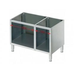 Öppet skåp för bänkmodell apparater l   900 mm