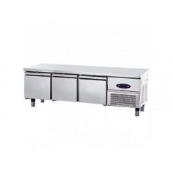 Frysgrillkylbänk med 3 lådor 1/1 för kokplattor, w   1800 mm