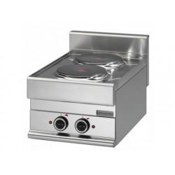 Elektrisk kokplatta, 2 plattor